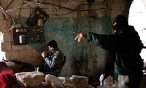 Al-Nusra fighters