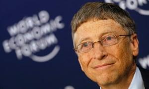 Bill Gates at Davos
