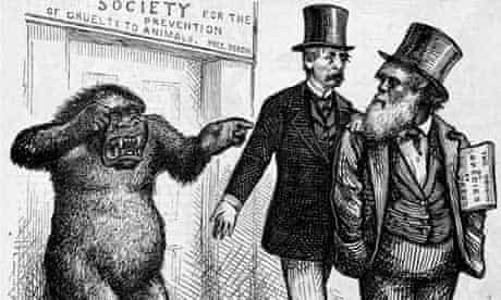 <Mr. Bergh to the Rescue> Cartoon by Thomas Nast