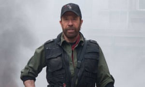 Chuck Norris in The Expendables 2