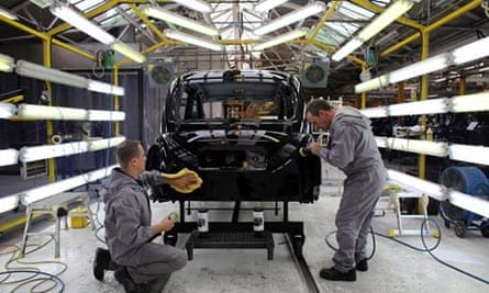 Manufacturing London Black Cab Production in Coventry