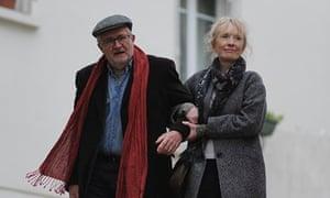 Jim Broadbent and Lindsay Duncan in Le Week-End, written by Hanif Kureishi