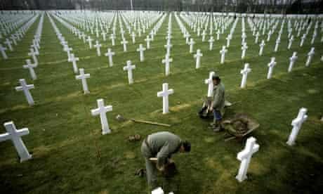 France - first world war cemetery