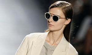 A design from Dries van Noten … and a slick parting.