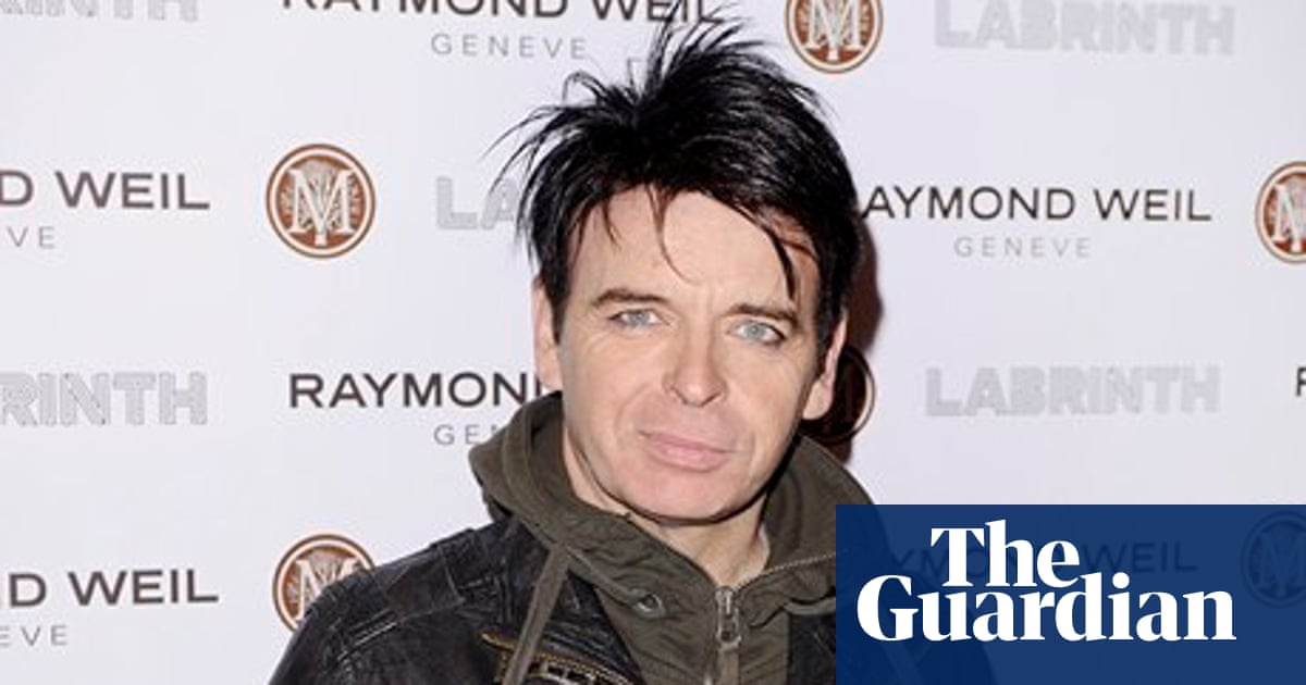 Gary Numan Critics Said I Was Wooden On Stage I Think It S True Music The Guardian