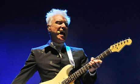David Byrne And St Vincent Perform At The Roundhouse