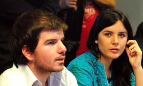 Giorgio Jackson and Camila Vallejo