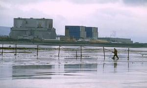 The existing nuclear power station at Hinkley Point