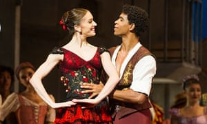Carlos Acosta and Marianela Nuñez in Don Quixote.