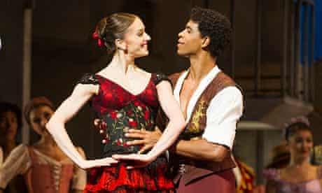 Carlos Acosta and Marianela Nuñez in Don Quixote.