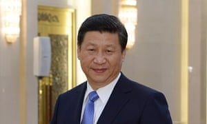 The Chinese president, Xi Jinping