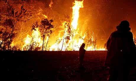 Bushfires in New South Wales, Australia