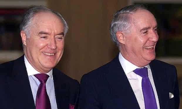 Sir David and Sir Frederick Barclay