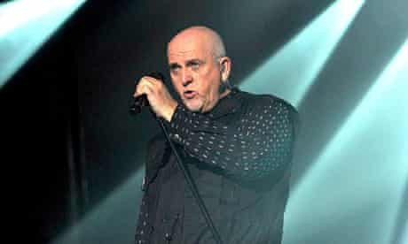 Peter Gabriel in concert at the O2 Arena
