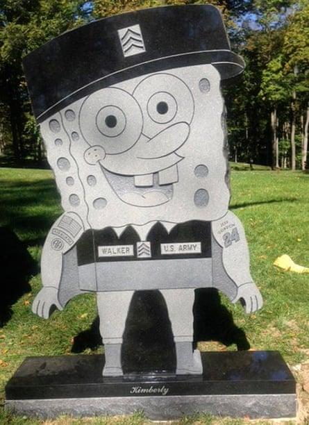 SpongeBob SquarePants headstone