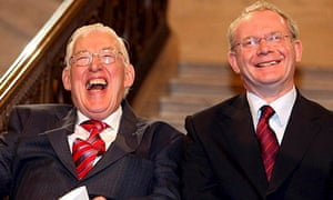 Northern Ireland new government at Stormont Parliament Buildings