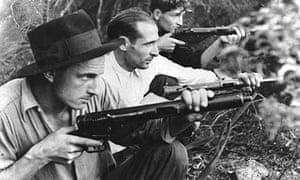 French resistance fighters in Corsica