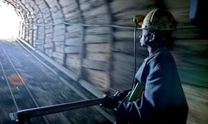 A copper mine in the Democratic Republic of Congo.