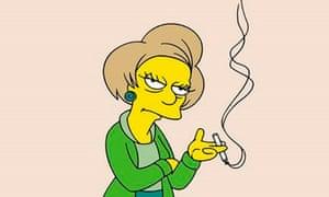 The Simpsons …farewell Edna Krabapple.
