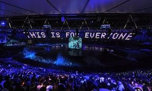 Sir Tim Berners-Lee London Olympics