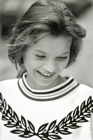 Kate Moss - her first photo shoot aged 14 Exhibition at the Lawrence Alkin Gallery
