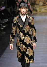 Dolce & Gabbana - Runway - Milan Fashion Week Menswear Autumn/Winter 2013