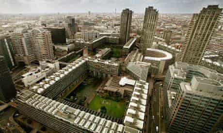 The Barbican centre in London