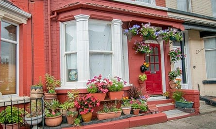 John Lennon's first home at 9 Newcastle Road in Wavertree