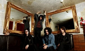 Jack White's The Dead Weather in 2009