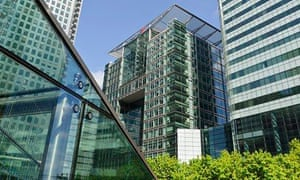 The Bank of America Merrill Lynch building, Canary Wharf, London