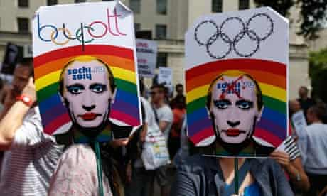 Sochi protests