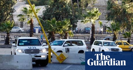 Syria: chemical weapons inspectors begin securing Assad ...