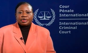 ICC prosecutor Fatou Bensounda