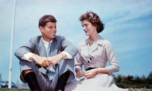 John F Kennedy and Jacqueline Bouvier