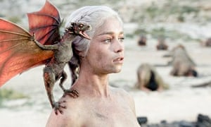Daenerys … she's got dragons on her shoulders.