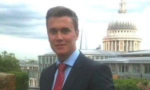 Moritz Erhardt, the 21-year-old banking intern found dead in his temporary London flat after working