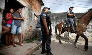 Pacification operation in the favela complex of Lins de Vasconcelos