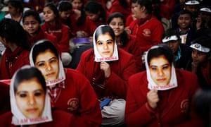 Indian schoolgirls