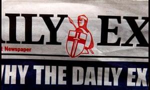 Daily Express masthead