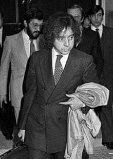 Antonio González Pacheco seen in 1981