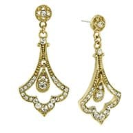 Earrings from the ACHICA Downton Abbey jewellery collection.