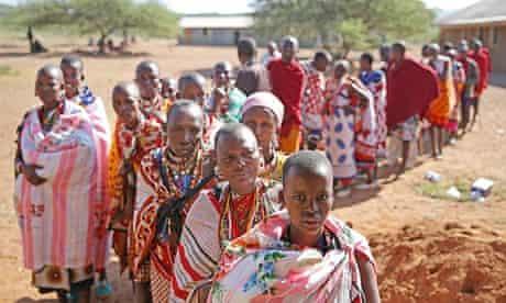 Maasai vote Tanzania