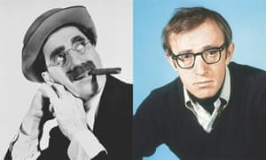 Groucho Marx and Woody Allen