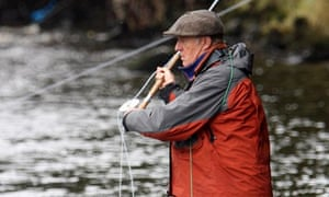 Chris Tarrant, fishing