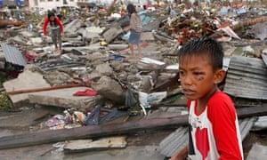 Typhoon Haiyan: residents of Tacloban city