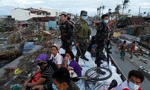 Philippines Typhoon Haiyan Tacloban city