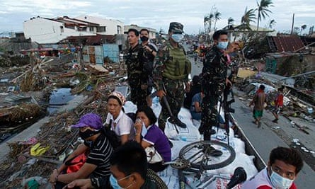 Typhoon Haiyan Philippines Prepares Climate Change Plans For