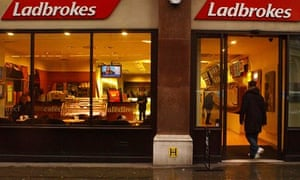 A branch of Ladbrokes in London