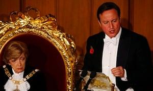 British Prime Minister David Cameron speech at Lord Mayors Banquet