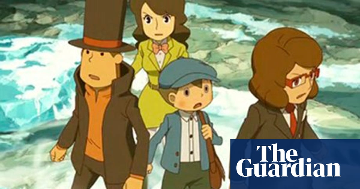 Professor Layton And The Azran Legacy Review Games The Guardian